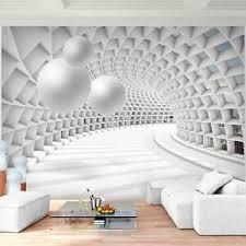details zu fototapete 3d abstrakt vliestapete grau wohnzimmer schlafzimmer flur modern