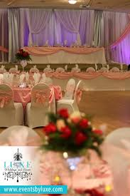 Quinceanera Decorations For Hall by Pink White And Silver Quinceanera Backdrop Pink And White
