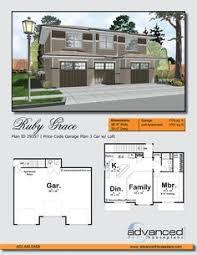 062G 0083 Modern 1 Car Garage Apartment Plan