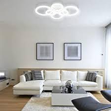 anten modern led deckenleuchte wohnzimmer dimmbar mit fernbedienung design esszimmerle 40w 3000lm mit farbtemperaturen 3000 6500k für wohnzimmer