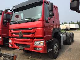 China HOWO Truck Head 6X4 371HP 420HP Tractor Trucks Sale In Ghana ...