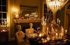 Scary Halloween Decorations For Indoors Party Decoration Ideas Dining Room