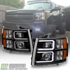 Chevy Truck Headlights 881998 Chevy Truck 8piece Black Halo Headlights Set Wxenon Bulbs Billet Front End Dress Up Kit With 7 Single Round 1973 Lumen Ck Pickup 1964 Projector Led Dna Motoring For 0306 Silveradoavalanche 4pc Headlight 5 Inch 1958 Wiring Diagrams Schematics 03 04 05 06 Silverado 1500 Tail Lights Parking Light 9499 Suburban Blazer Headlamps Light Blue Trucks Elegant Chevrolet Colorado Crew Cab Photo 9902 1 Piece Grille Cversion Dash In 2017 Are Awesome The Drive 072014 Tahoe Avalanche Tron Style Neon Tube