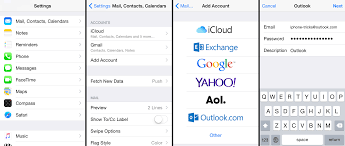 How to Add Outlook Email to iPhone MSN Hotmail Live