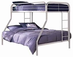 Futon Bunk Bed With Mattress Included White Roof Fence & Futons