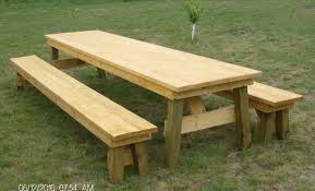 table picnic table plans nz amazing picnic table designs 10