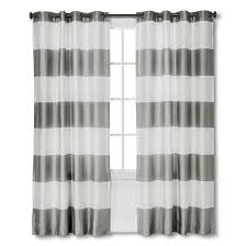 Target Blackout Curtains Smell by Gray Striped Curtains Target