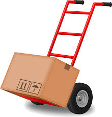 Clipart - Hand Truck (Dolly)