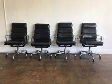 Herman Miller Eames Soft Pad Executive Chair by Vintage Herman Miller Eames Executive Soft Pad Chair Ebay