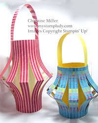 Designer Paper Laterns Fold