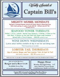 Breslin Bar And Dining Room Restaurant Week by Captain Bills Restaurant And Catering Home Bay Shore New York