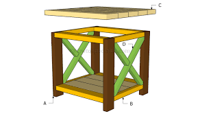end table plans howtospecialist how to build step by step diy