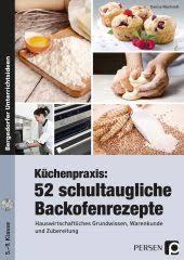 küchenpraxis 42 schultaugliche kochrezepte m 1 cd rom