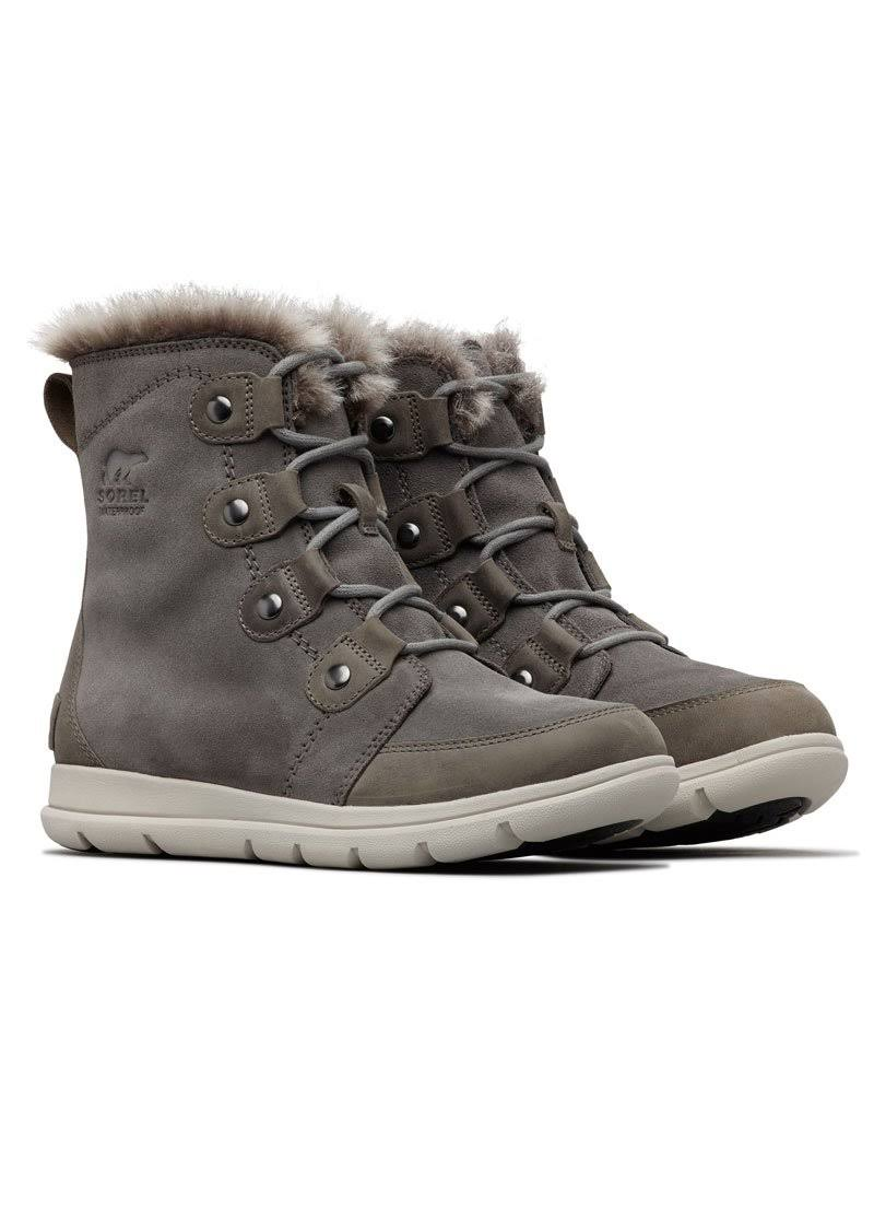 Sorel Women's Explorer Joan Winter Boots - Grey, EU41