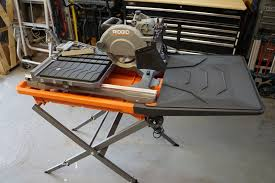 ridgid 8 tile saw review model r4040s tools in action power