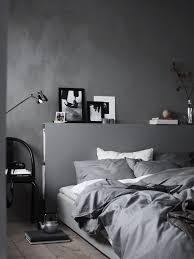 graues schlafzimmer ton in ton schlafzimmer schlafen bett