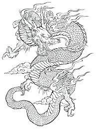 Dragon Coloring Pages For Adults And