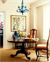 I Love This Chandelier Idea For A Funky Dining Room