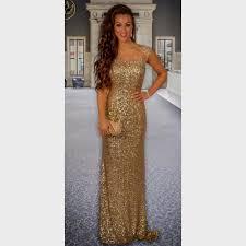 prom dresses gold sparkle naf dresses