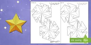 Matariki 3D Star Paper Craft