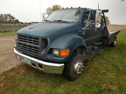 Online Auction -2001 Ford F650 Flatbed Truck -AuctionTime.com Lot 4238 |