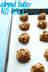 Desserts With Pumpkin Seeds by Almond Butter No Bake Cookies Minimalist Baker Recipes