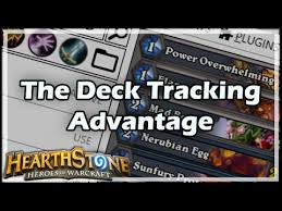 hearthstone the deck tracking advantage youtube