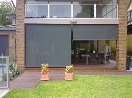 outdoor waterproof patio shades fancy outdoor bistro blinds on special exterior blinds