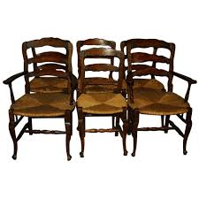 Set Of Six 19th Century Country French Ladder Back Dining Baxton ... Antique Set Of 12 French Louis Xv Style Oak Ladder Back Kitchen Six 1940s Ding Chairs Room Chair Metal Oak Ladder Back Chairs Avaceroclub Fniture Classics Solid Wood Wayfair 10 Rush Seat White Painted Country Shabby Chic Cottage In Theodore Alexander Essential Ta Farmstead A 8 Nc152 Bernhardt Woven