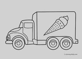 Beautiful Of Truck Coloring Pages Bargain Pictures Trucks To Color ...