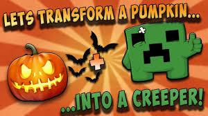 Minecraft Creeper Pumpkin Stencils by Transform A Pumpkin Into A Creeper Minecraft Pumpkin Halloween