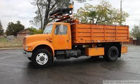 1990 International 4900 15' Flatbed Dump Truck For Sale - YouTube Awesome 2000 Ford F250 Flatbed Dump Truck Freightliner Flatbed Dump Truck For Sale 1238 Keven Moore Old Dump Truck Is Missing No More Thanks To Power Of 2002 Lvo Vhd 133254 1988 Mack Scissors Lift 2005 Gmc C8500 24 With Hendrickson Suspension Steeland Alinum Body Welding And Metal Fabrication Used Ford F650 In 91052 Used Trucks Fresno Ca Bodies For Sale Lucky Collector Car Auctions Lot 508 1950 Chevrolet