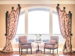 Curved Curtain Rod For Arched Window Treatments by Curtains For Arched Windows U2013 Teawing Co