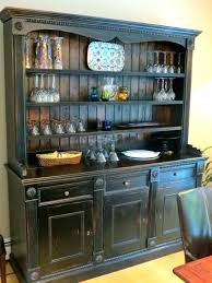 Black Buffet Hutch Table Large Size Of Kitchen Sideboard