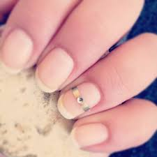 Nail Your Wedding Day Manicure With This Polished Trend Wedpics Blog