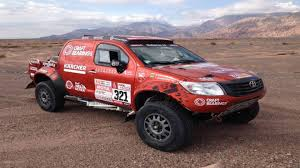 That Toyota Hilux That Finished A Dakar Stage With Only Front Tires ...