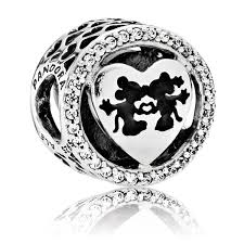 Pandora Halloween Charms Uk by Mickey And Minnie Mouse Sweetheart Charm By Pandora Shopdisney