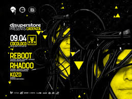 Clubbing Time Electronic Music Event Party Flyer Poster Design