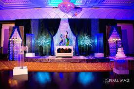 peacock theme sangeet decor Archives Indian Wedding Blog