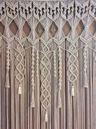 Best 25 Macrame curtain ideas on Pinterest
