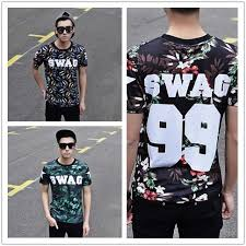 Hip Hop Vintage Clothing Swag T Shirt Clothes