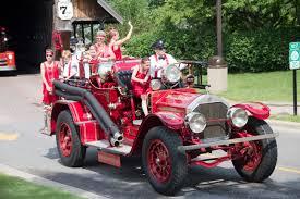 100 Antique Fire Truck Muster Bavarian Inn