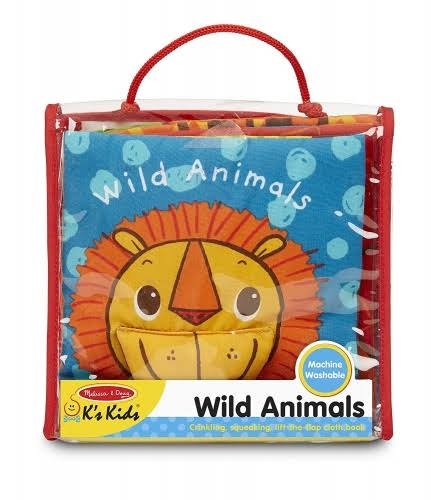 Melissa & Doug Wild Animals Book