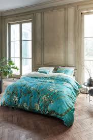beddinghouse x gogh museum almond blossom blue