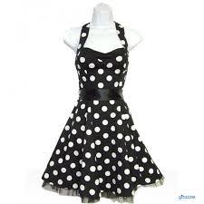 black polka dress dressed for less