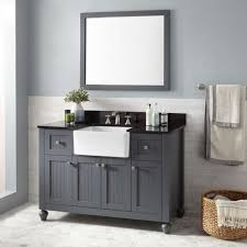 Distressed Bathroom Vanity Gray by Bathrooms Design Farmhouse Style Bathroom Vanity Can T Find The