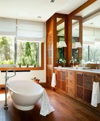 ambiance zen pour une salle de bain bois