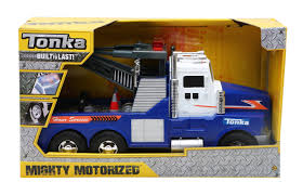 Tonka Mighty Motorized Tow Truck - Goliath Games :Goliath Games