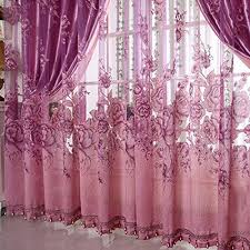 buy generic 250 100cm peony beads voile curtain living room window
