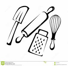 Baking clipart kitchen set 13